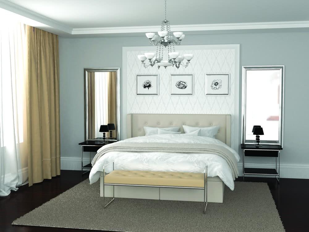 Łóżko kontynentalne Glamour Hilding