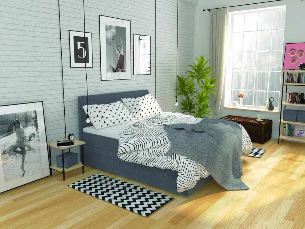 Łóżko kontynentalne Urban Hilding
