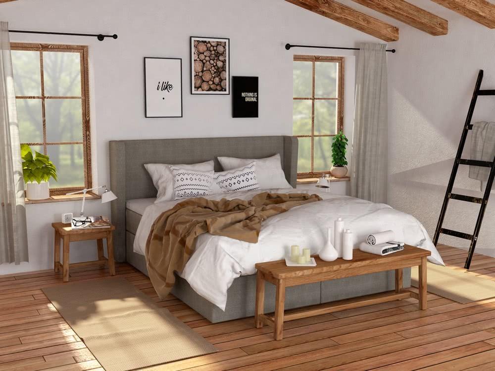Łóżko kontynentalne Vintage Hilding