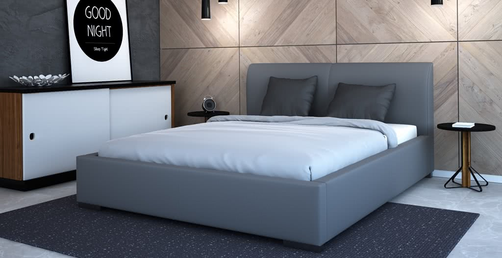 łóżko tapicerowane argo senpo