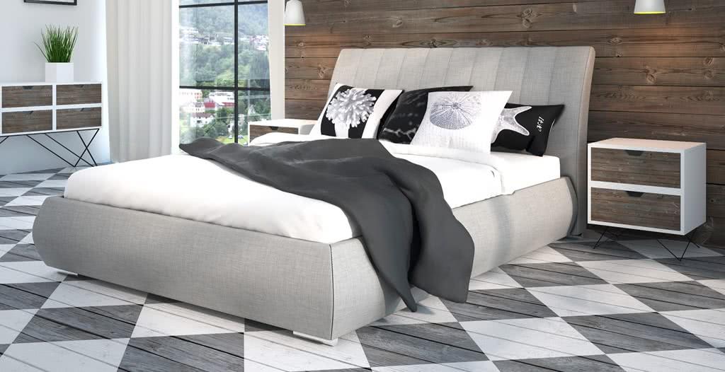 łóżko tapicerowane senpo nova