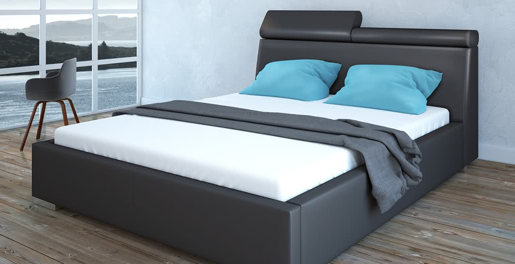 łóżko tapicerowane praga senpo