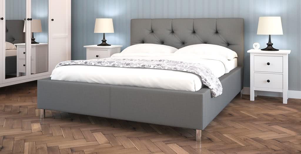łóżko tapicerowane presta senpo