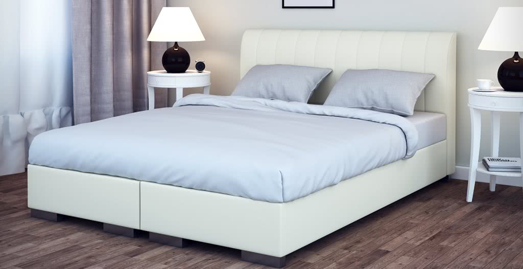 łóżko tapicerowane kontynentalne next senpo