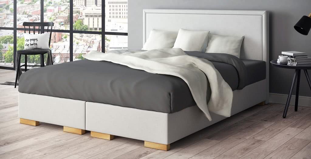 łóżko tapicerowane simple senpo