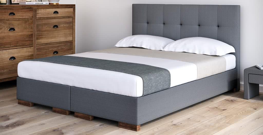 łóżko tapicerowane smart senpo