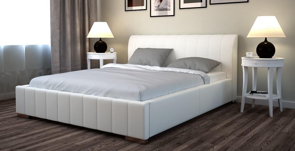 łóżko tapicarowane next senpo