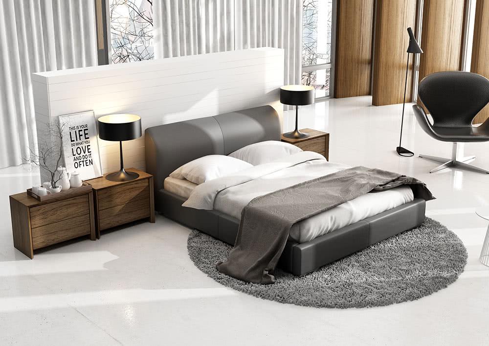 łóżko tapicarowane classic lux new design