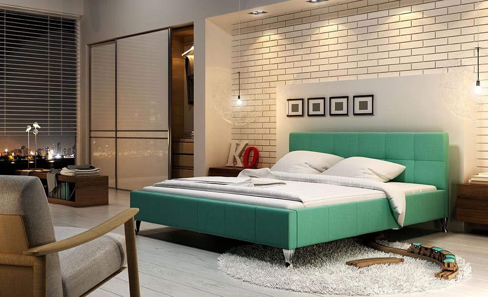 łóżko tapicerowane futura new design
