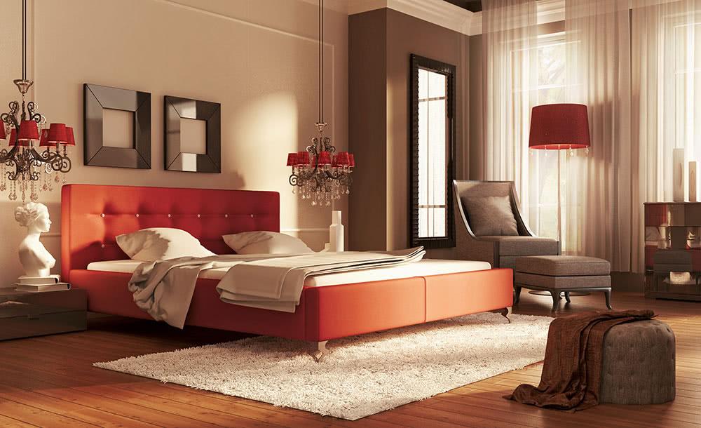 łóżko tapicerowane guana new design