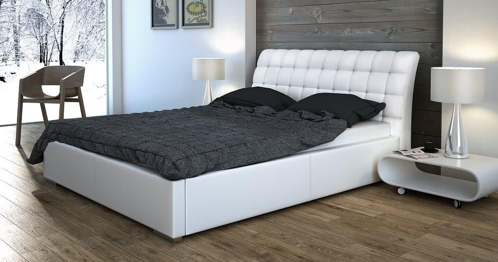 łóżko tapicerowane premium senpo