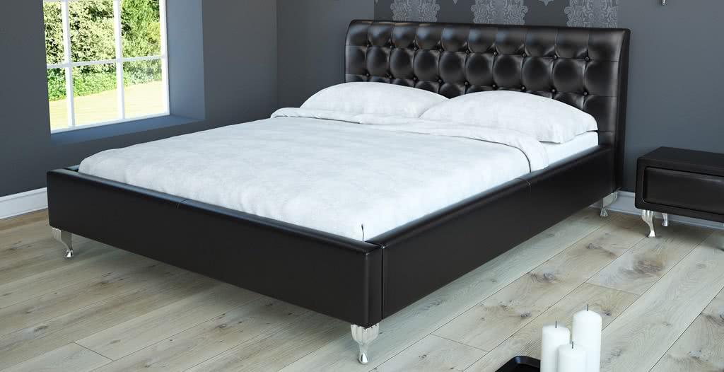 łóżko tapicerowane vega senpo