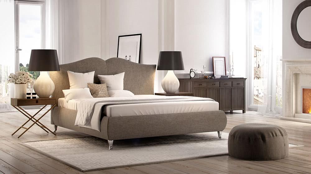 łóżko tapicarowane milano new design