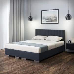 Łóżko tapicerowane kontynentalne Simple Senpo