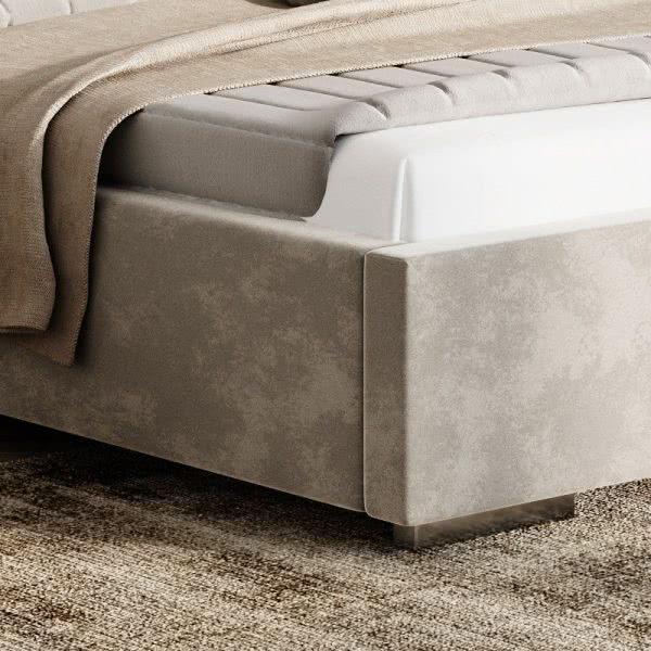 Łóżko tapicerowane Naomi Prestige New Design  róg łóżka