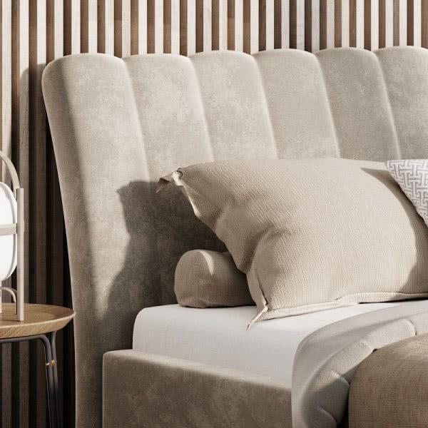 Łóżko tapicerowane Naomi Prestige New Design zagłówek