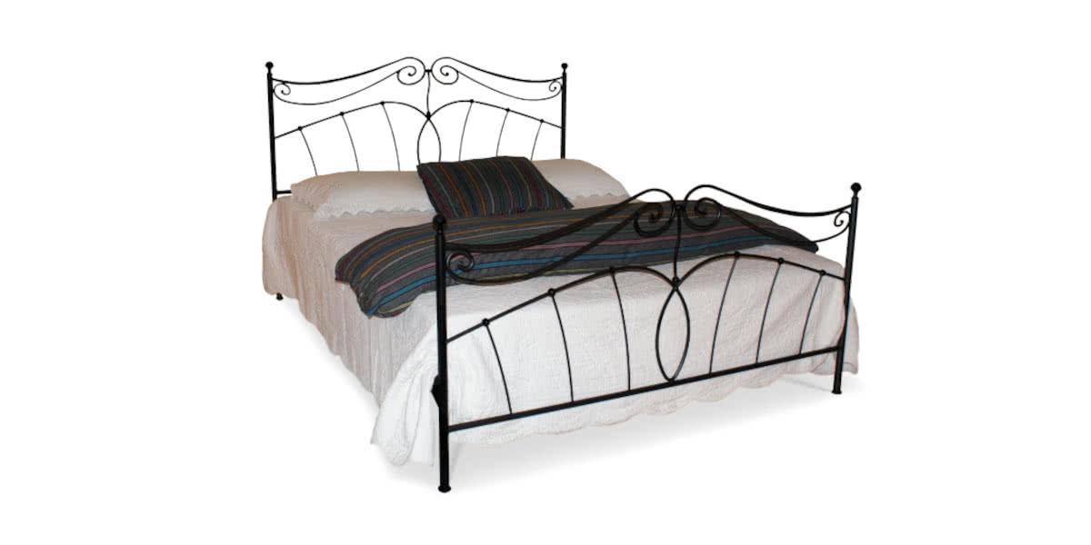 nadia łóżko metalowe camfero
