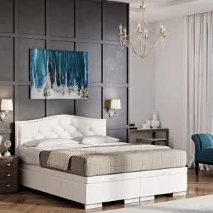 Łóżko tapicerowane Beauty New Design