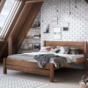 Łóżko drewnine Sawana Senpo