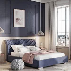 Łóżko tapicerowane Lazio Prestige New Design