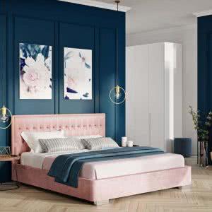 Łóżko tapicerowane Prince New Design
