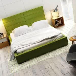 Łóżko tapicerowane Quadro Double New Design