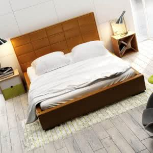 Łóżko tapicerowane Quadro Midi New Design