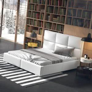 Łóżko tapicerowane Quaddro Plus New Design