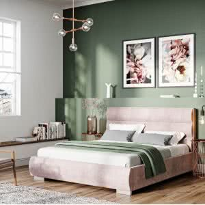 Łóżko tapicerowane Quaddro Round New Design