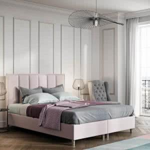 Łóżko tapicerowane Quaddro Vertical New Design