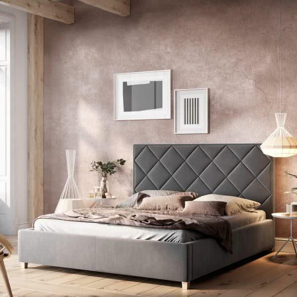 Łóżko tapicerowane Caro Senpo