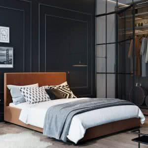 Łóżko tapicerowane Hugo Senpo
